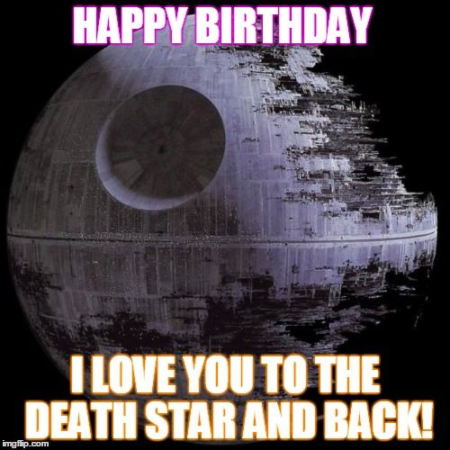 happy birthday star wars meme