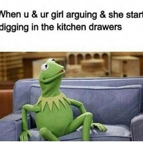 kermit meme none of my business